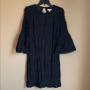 New York & Co bell sleeved shift dress
